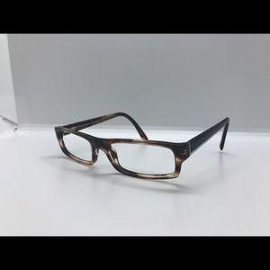 Prada Eyeglasses VPR 04M Brown Confetti